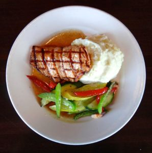 Bourbon Salmon meal